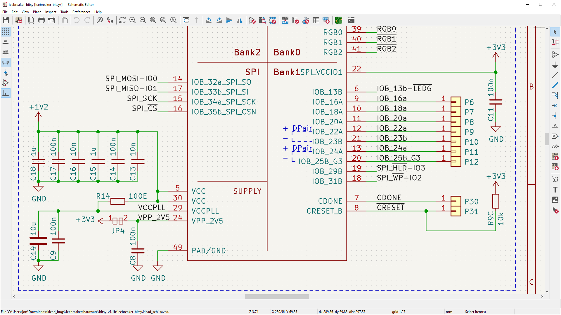 Kicad Eda Diagram Of Electric Circuit Schematic Capture