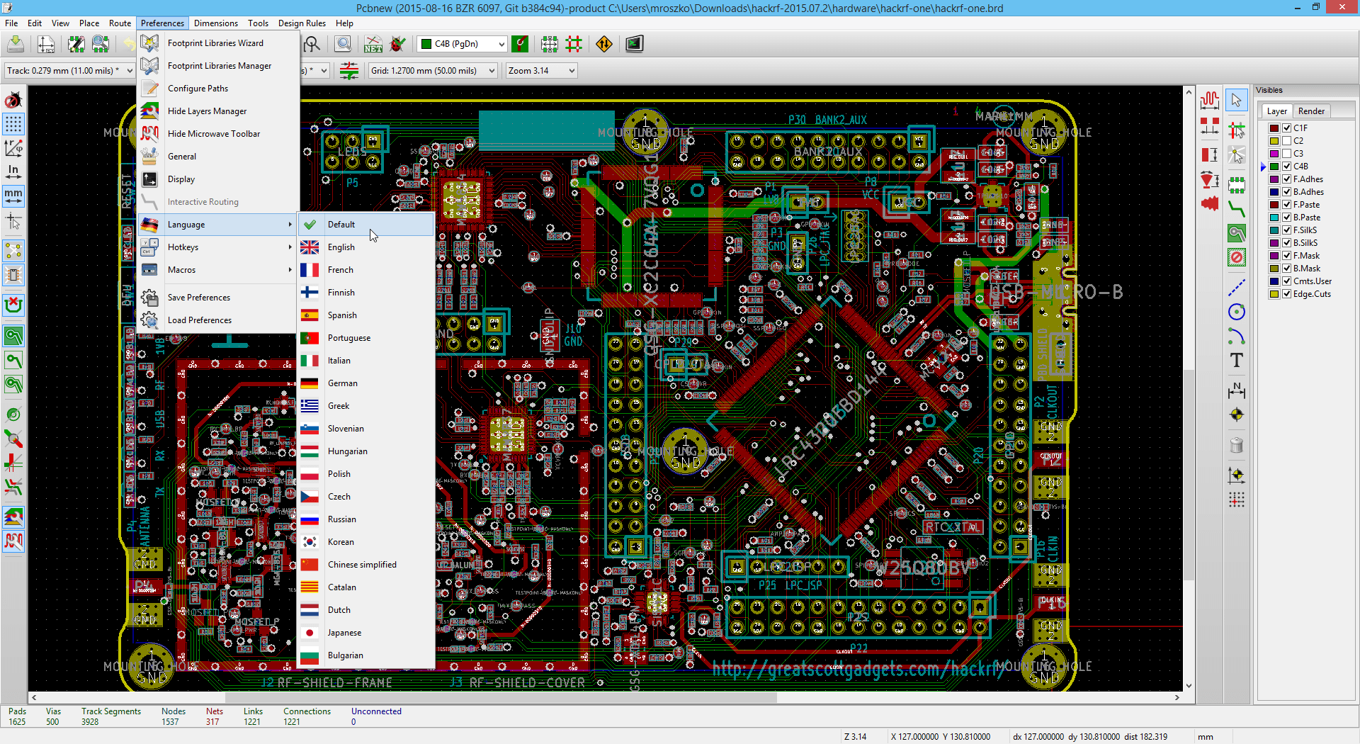 Screenshots | KiCad EDA